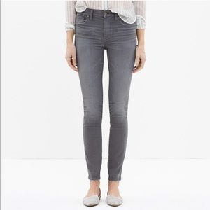 Madewell High Riser Skinny Jeans Dusty Wash - 24